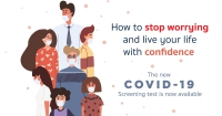 The New Covid-19 RT-PCR Screening Test is now available
